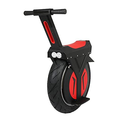Gmjay Monociclo Eléctrico Una Rueda Que Equilibra el Transportador Equilibrado del Uno Mismo de la Vespa Eléctrica,Black