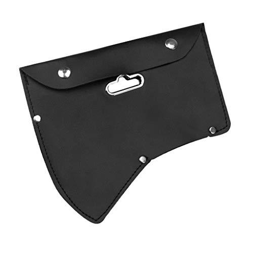 sharprepublic Axthalter Axt-Scheide Klingenschutz Klingenabdeckung aus PU Leder