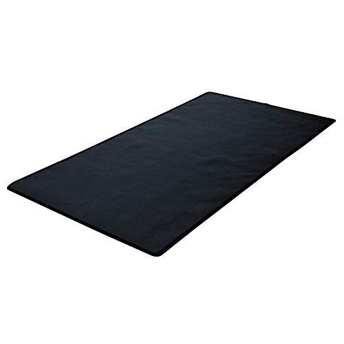 TEXFIRE - Alfombra ignífuga Multicapa, protector de suelo para estufa y chimenea (100x50 cm)