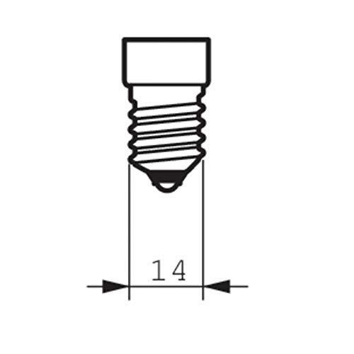 2x Philips 25W SES E14Petit culot à vis Pygmy lamps ></noscript> 300degrés C micro-ondes/four ampoules nominale Lot