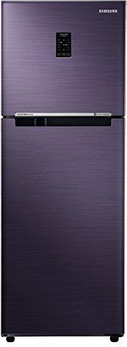 Samsung 253 L 2 Star Frost Free Double Door Refrigerator(RT28N3722UT/HL, Pebble Blue, Convertible, Inverter Compressor)