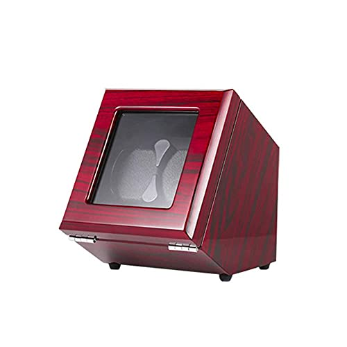 LLSS Enrollador de Reloj automático - 2 Posiciones de Mesa oscilante Interruptor táctil de Cuerda automática Motor silencioso con Cerradura y Llave Adecuado para Relojes de ho