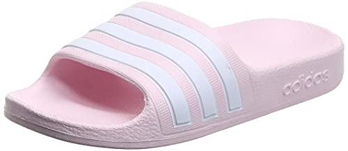 adidas Adilette Aqua K, Chanclas, Clear Pink FTWR White Clear Pink, 38 EU