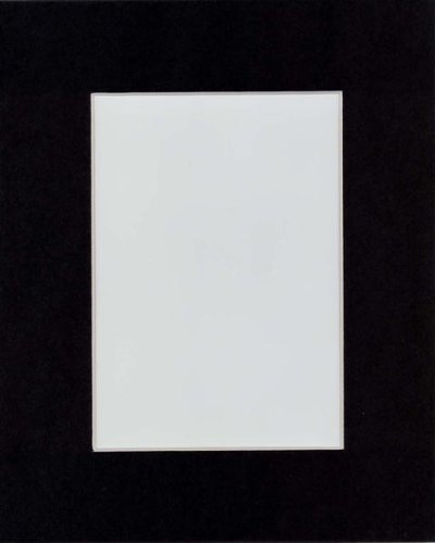 Pack of 10 16x20 BLACK Picture Mats with White Core Bevel Cut for 11x14 Pictures