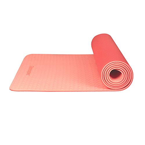 Retrospec Zuma Yoga Mat w/Nylon Strap for Unisex - Non Slip Exercise Mat for Yoga, Pilates, Stretching, Floor & Fitness Workouts