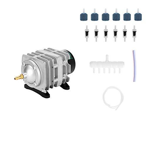TWW Bomba de oxígeno, compresor de Aire electromagnético ACO208 / 308/318, Estanque de Peces y Tanque de Peces, Bomba de Aire, Chorro de oxígeno,308