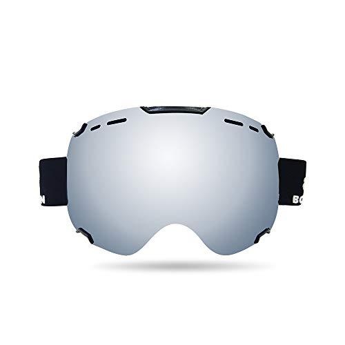 Gafas De Esquí, Protección UV Antivaho Gafas De Snowboard De Deportes De...