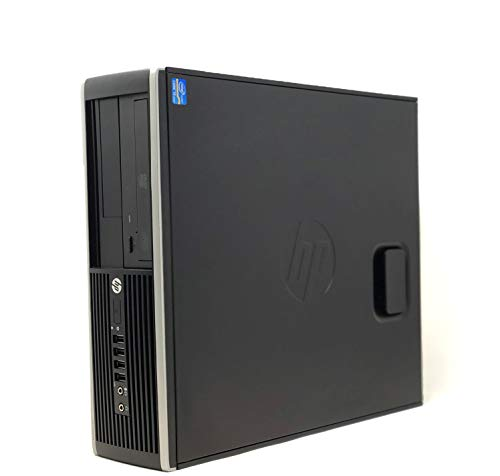 HP Elite 8300 - Ordenador de sobremesa (Intel Core i7-3770, 16GB de RAM, Disco SSD 240GB + 500GB HDD, Lector DVD, Grafica 2GB, WiFi PCI, Windows 10 Pro ES 64) -...