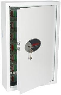 Phoenix Cygnus armoire et support à clé Acier Blanc - Armoires et supports à clés (Acier, Blanc, 144 crochet(s), Clé, 430 ...