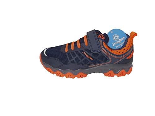 Jhayber RIADO, Zapatillas de Trail Running, Navy, 34 EU
