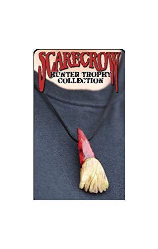 Horror-Shop Zombie trophées chaîne de dent