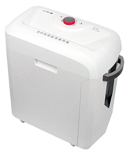 Olympia MC 306.2Micro-cut Shredding, 62dB weiß Aktenvernichter–Papier-Zerstörer (micro-cut Shredding, 22cm, 19l, 62dB, Knöpfe, 6min)