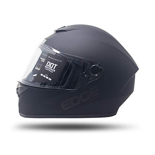 Casco De Moto Mujer Integral marca EDGE MOTORCYCLE PARTS AND ACCESSORIES