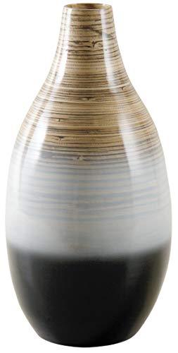 Vase bambou laqué