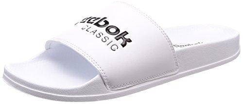 Reebok Classic Slide Herren Sportschuhe, Weiß - (White/Black)