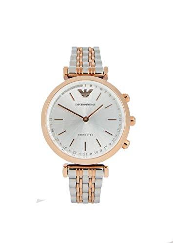 Emporio Armani dames analoog kwarts horloge met roestvrij stalen armband ART3019