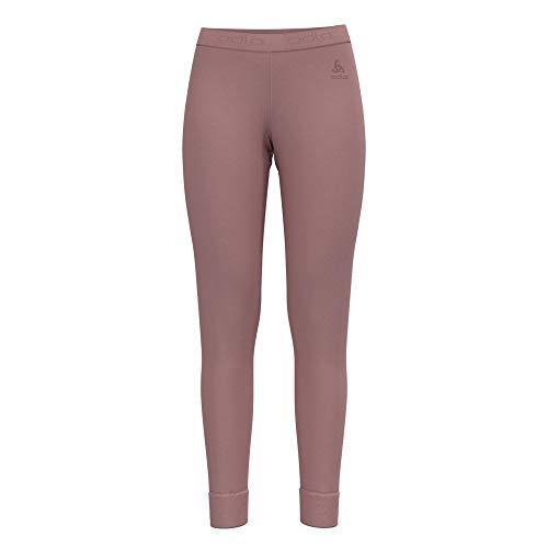 Odlo Damen SUW Bottom Pant Natural 100% Merino WARM Unterhose, Woodrose, M