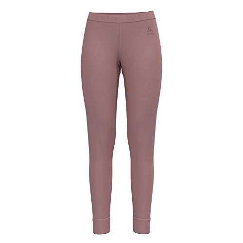 Odlo Damen SUW Bottom Pant Natural 100% Merino WARM Unterhose, Woodrose, M