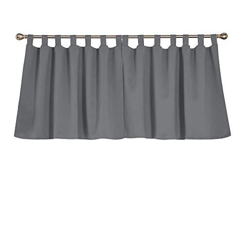 cortinas cortas con trabillas
