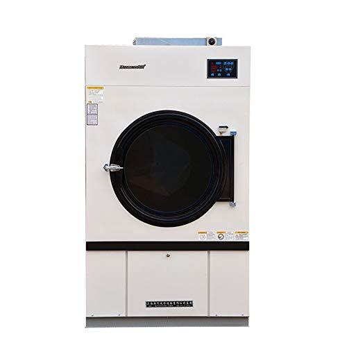 380 kg superficie lisa lavadora, de acero inoxidable, red a prueba de polvo, calefacción de gas, ahorro de energía.