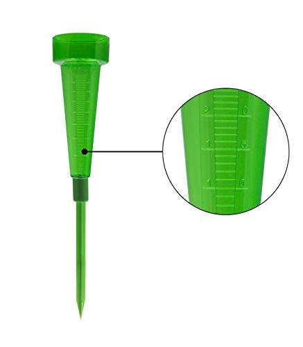 Pluviómetro de plástico verde ORYX 8011000