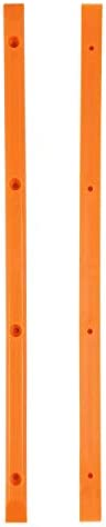 Orange Skateboard Rails Old School Plastic with Mounting Screws by Black Diamond product image