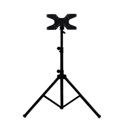 Audio2000's AST423Y Mobile Flat Panel Portable Tripod TV Stand