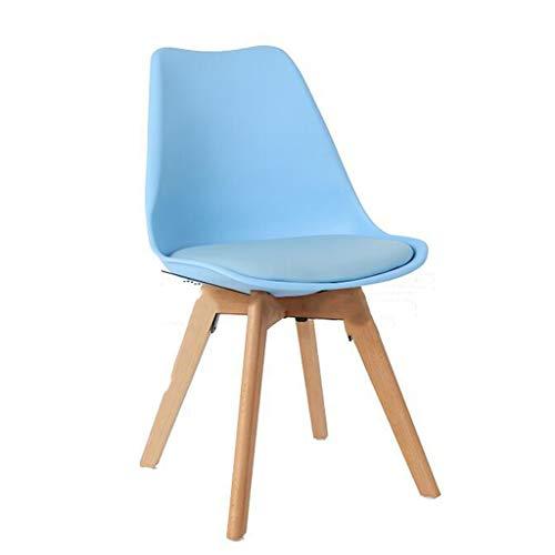 Rory stoel van massief hout, voor vrije tijd, stoel, modern, minimalistisch, bureaustoel, voor de keuken, woonkamer enz.