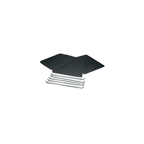 De Dietrich–Filter Kohle (X3) 305x 220mm für Dunstabzugshaube de-dietrich