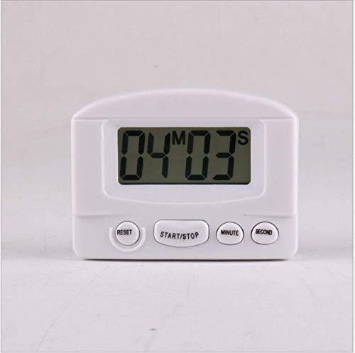 DZXYW Reloj Despertador La cabecera Cocina Reloj Estudiante