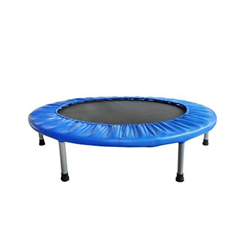 FA Sports FlyJump Fit, Mini Trampolino Elastico Fitness, per Interni, Ø 102 cm, Nero e Blu
