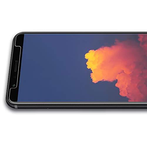 TOCYORIC Panzerglas Displayschutzfolie für Huawei Honor 7X, Ultra Dünn HD Transparenz Schutzfolie Anti-Öl, Anti-Kratzer, Blasenfrei, 9H Gehärtetes Glas Displayschutz für Huawei Honor 7X, 2 Stück - 5