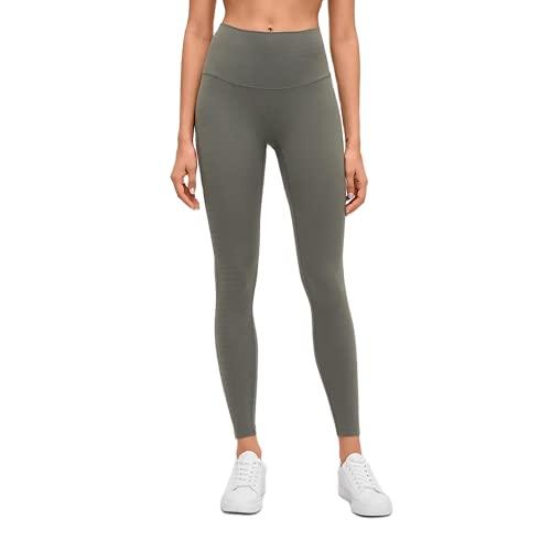 QTJY Leggings Deportivos Desnudos Suaves para Mujer, Pantalones de Yoga elásticos de Cintura Alta, Levantamiento de Cadera, Push-ups, Pantalones de Entrenamiento para Celulitis F XL