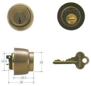 SHOWA(ショウワ) 標準ピンシリンダー CLタイプ 鍵 交換 取替え SCY-41 CL/535/397