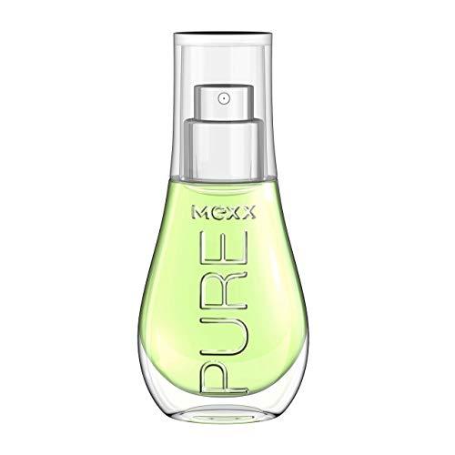 Mexx Pure Woman – Eau de Toilette Natural Spray – Fruchtiges Damen Parfüm mit Granatapfel, Sandelholz und Vanille – 1 er Pack (1 x 15ml)
