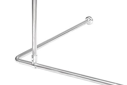 KS Handel Lot de 24 supports de fixation pour pare-brise en aluminium Argenté 55 cm