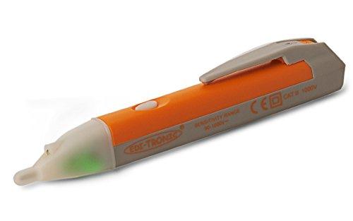 edi-tronic Berührungsloser Spannungstester bis 1000 V Kontaktloser Spannungsprüfer Spannung Leitung Prüfer VD-02T