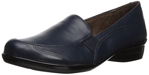 Natural Soul Women's CARRYON Loafer Flat, Navy, 8 M US