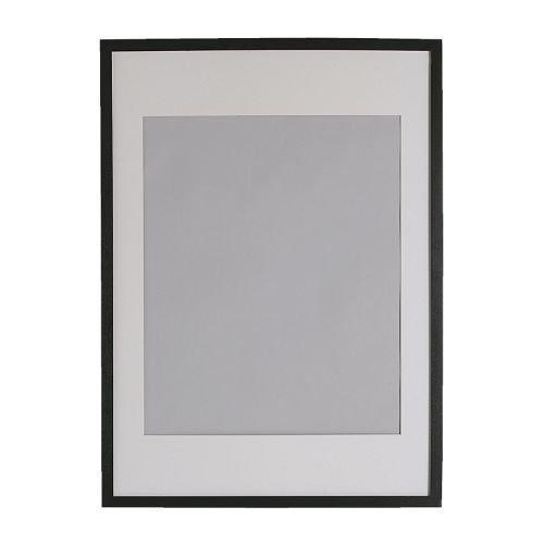Ikea Ribba–Cornice, 50x 70cm, Colore Nero