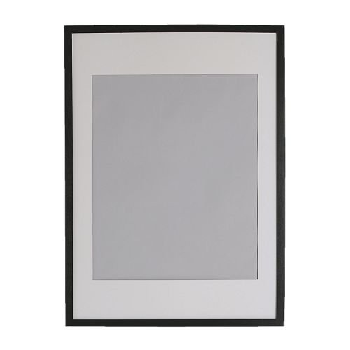 Ikea RIBBA - Frame, black - 50x70 cm