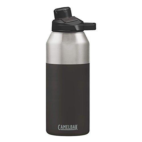 Camelbak Products LLC Unisex– Erwachsene Chute Mag Vacuum Stainless 40oz Jet schwarz One Size