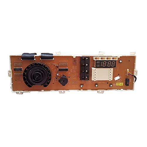 MMingx for LG. Scheda Informatica della Lavatrice del Tamburo WD-N10230D WD-N12235D 6870EC9284C Display Board 6870EC928. (Color : Yellow)