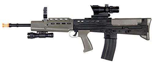 spring sa80 rifle fps-360 electronic sight, flashlight...