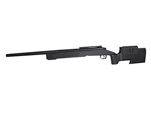 M40A3 Sniper Black A Molla Rinforzata con Ottica E BIPIEDE-CECCHINO-18556FULL