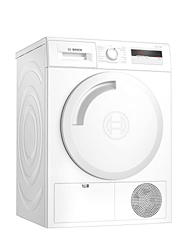 Bosch WTH84000GB Serie 4 Freestanding Heat Pump Tumble Dryer with AutoDry,...