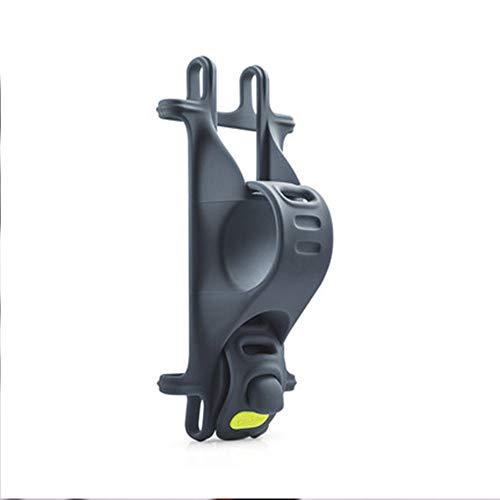 GYJ Ultraleichte Fahrradhalterung, rutschfeste Lenkerhalterung, Universalhalterung für Smartphones mit 4 bis 6 Zoll Bildschirm, Fahrrad, Mountainbike, Motorrad