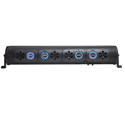Bazooka 36 Inch G2 Bluetooth Party Bar Speaker & LED Lights Illumination System for Off-Roading and Outdoor Activities