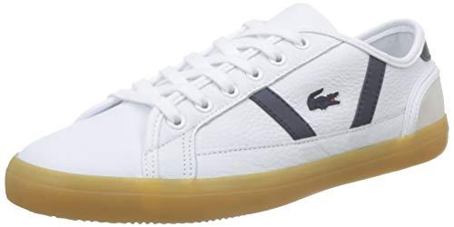 Lacoste Damen Sideline 319 1 Cfa Sneaker, Weiß (White/Navy 042), 40 EU