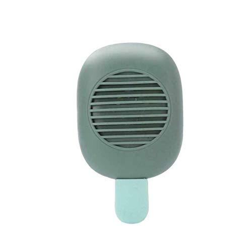 Asesino de mosquitos,✨CHshe✨,Eléctrico USB Mosquito Killer, repelente de mosquitos portátil, de larga duración, 12 horas (Verde)
