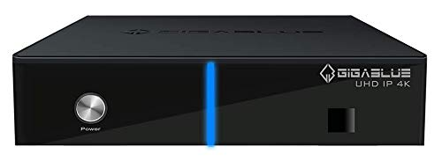 GigaBlue UHD IP 4K + Twin Tuner DVB-C/T2 - Multiroom Multimedia Multistream HDMI UHD Full HD USB 3.0 SD Kartenleser